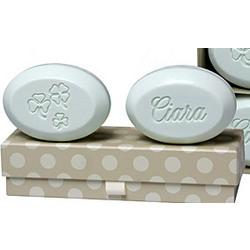 Personalized Shamrock Soap Set