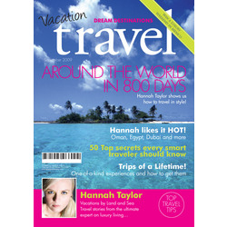 Personalized Fake Travel Magazine Cover