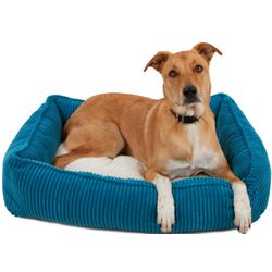 "34"" Plush Corduroy Dog Bed"