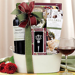 Little Lakes Cabernet Gift Basket