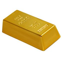 Gold Bar Mini Magnetic Paperweight