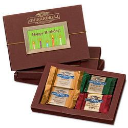 Happy Birthday Square Chocolates Gift Box