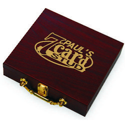7-Card Stud Personalized Case Poker Set