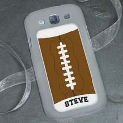 Custom Football Galaxy S3 Phone Cover