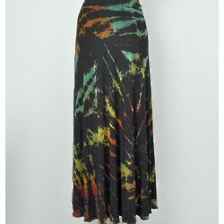 Long Mudmee Wrap Skirt