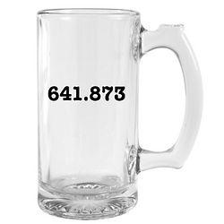 Dewey Decimal System Beer Mug