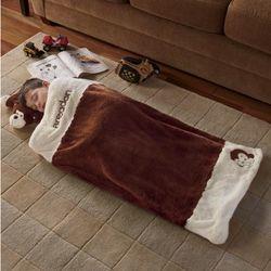 Kid's Personalized Jungle Animal Sleeping Bag