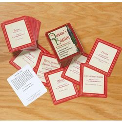 Queen's English Knowledge Cards