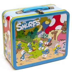 Smurf Village Lunch Box