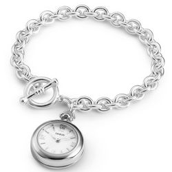 Engravable Wrist Watch Toggle Bracelet
