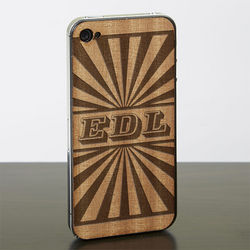 Rays iPhone 4 or iPhone 4s Wood Cell Phone Skin