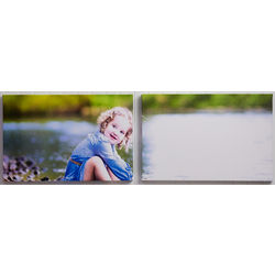 2-Piece Custom Photo Split-Panel Canvas Print