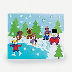Design Your Own Winter Scene Stickers