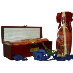 Legend of the Blue Rose Message Bottle and Treasure Chest