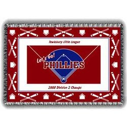 Phillies Fanatic Tapestry Throw