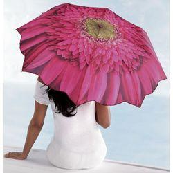Pink Daisy Flower Umbrella