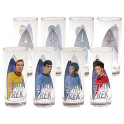 Star Trek Collector's Glasses
