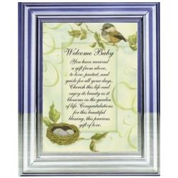 Welcome Baby Musical Frame