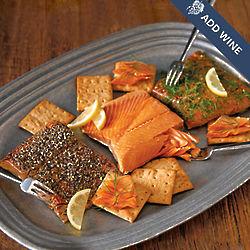 Wild Alaskan Salmon Sampler Gift Box