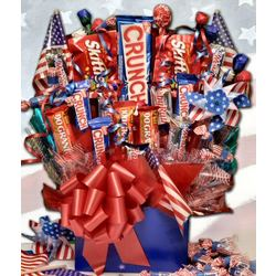 The Patriot Candy Bouquet