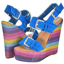 Blossom Olivia Wedge Sandals