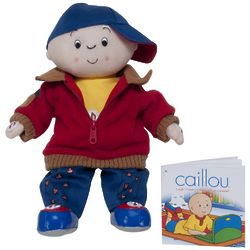 Caillou Laugh n' Learn Doll