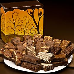 Fall Sprite Couble Dozen Brownies Gift Box