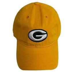 Packers Gold Adjustable Logo Cap