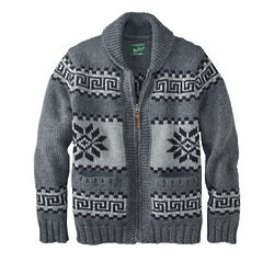 Men's Quehanna Lambswool Cardigan