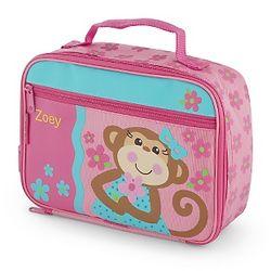 Girl's Monkey Lunch Box