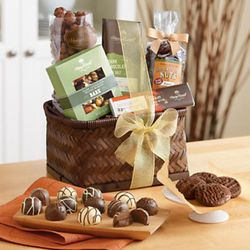 Chocolate Treats Gift Basket