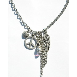 Peace Charms Necklace