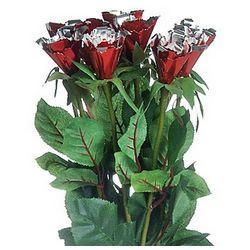 10 Stem Anniversary Just Aluminum Roses