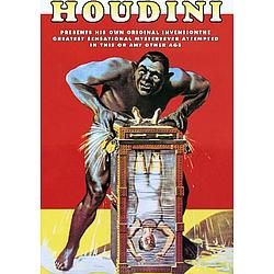 "Personalized ""Houdini the Great"" Poster"