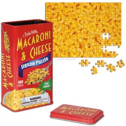 Double Sided Macaroni and Cheese Puzzle