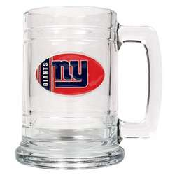 New York Giants Glass Tankard