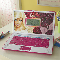Girl's Barbie B-Book Laptop