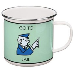Go to Jail Monopoly Mug