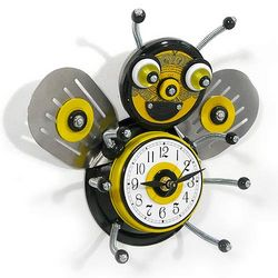 Jolly Bee Culinary Creature Kitchen Clock