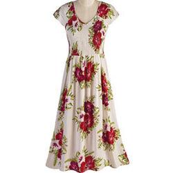 Posey Print Dress