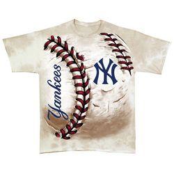 Hardball Oversized Print T-Shirt