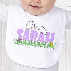 Personalized Ears To You Easter Bib