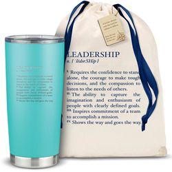 The Joe Leadership Definition 20oz. Stainless Steel Tumbler