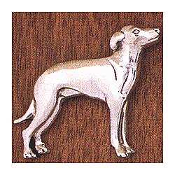 Handcrafted Greyhound Pin