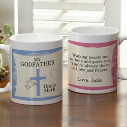To My Godparent Personalized Coffee Mug