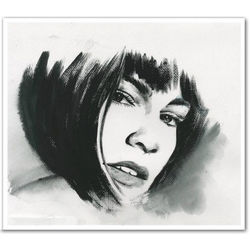 Hand Drawn Ink Rendering From Photo