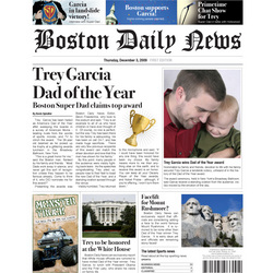 Best Dad Personalized Fake Newspaper Page