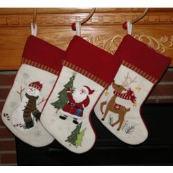 Personalized Loveliest Festival Christmas Stocking