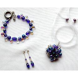 Funky Blue Soozii Rox Jewelry