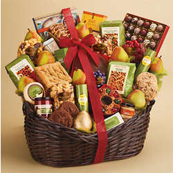Grand Deluxe Hearthside Snack Basket